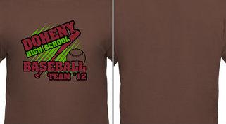 High School Baseball Team Design Idea