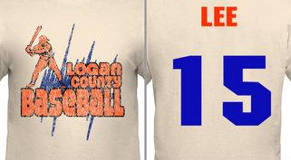 High School Baseball Team Jersey Design Idea