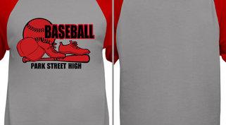 Baseball, Bat, Cleats, Cap Design Idea