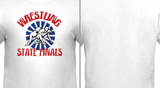 Wrestling State Finals Design Idea