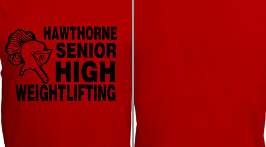 Senior High School Weightlifting Design Idea