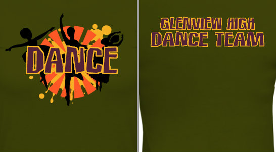 Dance Splash Design Idea