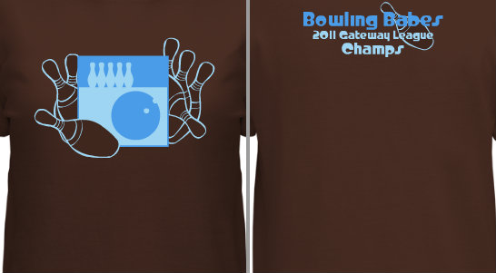 Bowling Graphic Design Idea