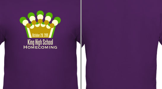 Homecoming Crown Design Idea
