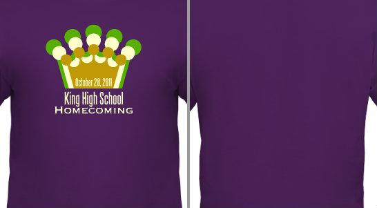 Homecoming Crown Design Idea