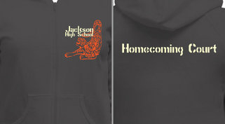 Homecoming Mascot Design Idea
