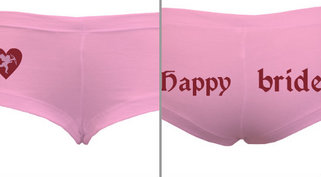 Bachelorette Party Panty Design Idea