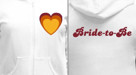 Bachelorette Party Hearts Design Idea