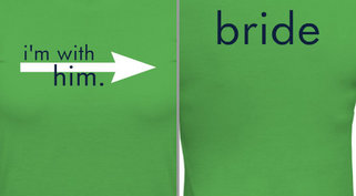 Bride Arrow Design Idea