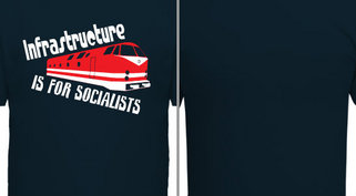 Infrastructure is for Socialists Design Idea