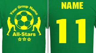 All-Star Soccer Shirts Design Ideas