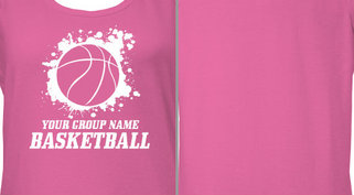 Ladies Basketball Jersey Design Idea