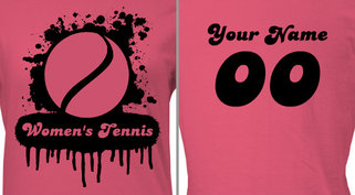 Women's Tennis T-shirt Design