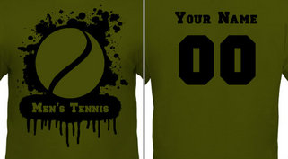 Men's Tennis T-shirt Design