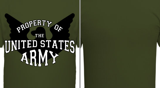 Property of US Army Design Idea