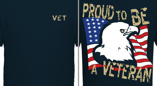 Proud to Be A Veteran Design Idea