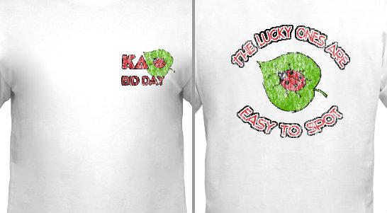 Ladybug Bid Day Design Idea