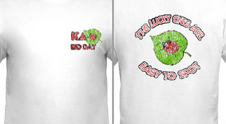 Ladybug Bid Day Design Idea