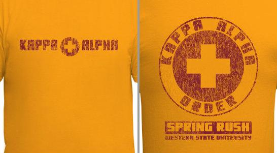 Kappa Alpha Design Idea