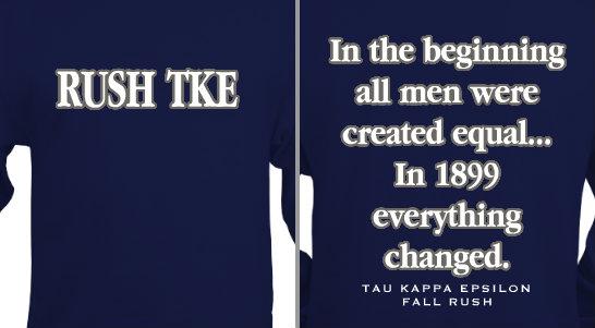 Tau Kappa Epsilon Design Idea