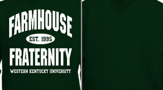 Farmhouse Fraternity Design Idea