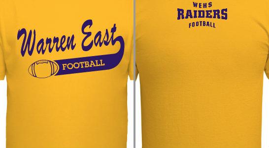 High School Football Team Design Idea