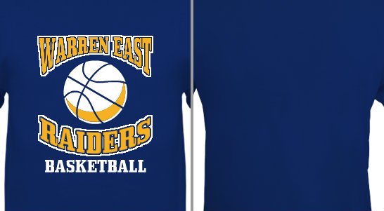 High School Basketball Design Idea