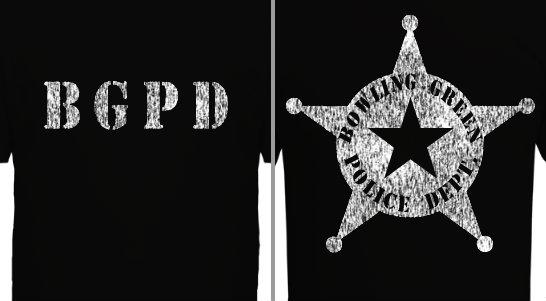 Distressed Badge Design Idea