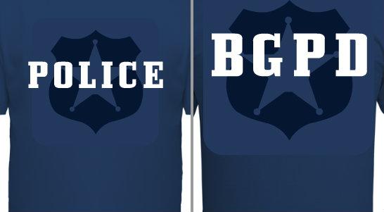 Police Badge Design Idea