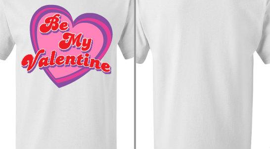 Be My Valentine Design Idea