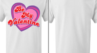 Be My Valentine Design Idea