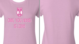 Owl You Need is Love Design Idea