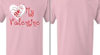 Bee My Valentine Design Idea