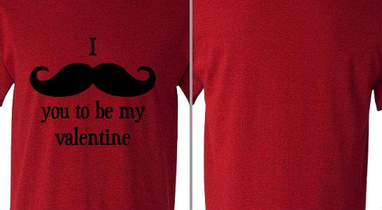 Moustache Valentine
