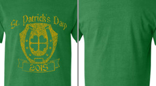 St. Patrick's Day T-shirt Design Idea