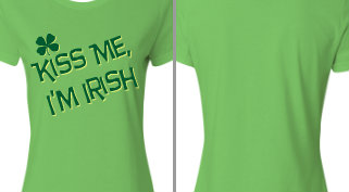 Kiss Me, I'm Irish! Design Idea