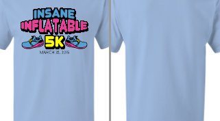 Insane Inflatable 5K T-Shirt