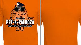 Pet-A-Palooza Costume Contest T-Shirt