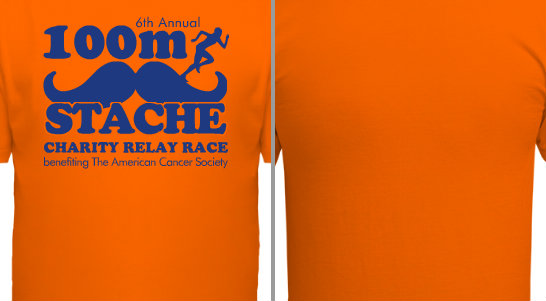 100 Meter Stache Charity Relay Race