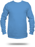 Custom Long Sleeve T-Shirts : 2400 Gildan Ultra Cotton