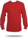 Custom Long Sleeve T-Shirts : 29LS Jerzees 50/50 Long Sleeve