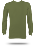 Custom Long Sleeve T-Shirts : 3501 Canvas Long Sleeve