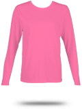 Custom Women's Long Sleeve T-Shirts : 3588 LAT