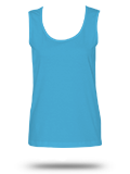 Custom Women's Tank Tops: 3590 LAT Ladies' Scoopneck Tank Top