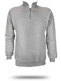Custom Zip Up Hoodies : 4528 Jerzees Super Sweats 50/50 Quarter-Zip