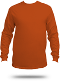 Custom Long Sleeve T-Shirts : 5186 Hanes Beefy-T