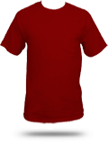 Custom Printed Pocket T-Shirts : 5190 Hanes Beefy-T