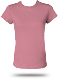 Bella B6000H Heather Crew Neck Jersey T-Shirt