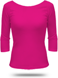Custom Girly American Apparel Long Sleeve T-Shirts : 6344 � Sleeve Boatneck