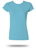 Custom Girly and Juniors' T-Shirts : 64000L Gildan Ladies' SoftStyle T-Shirt